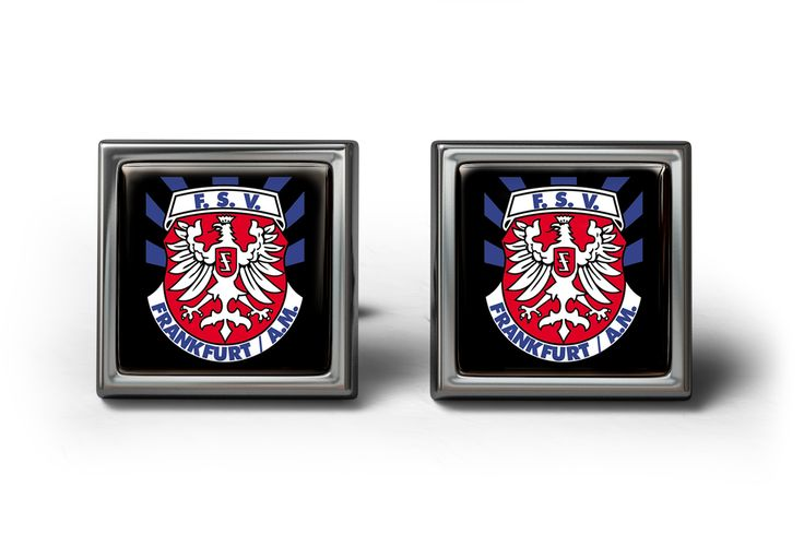 FSV Frankfurt Cufflinks Manschettenknöpfe #Cufflinks #football #gifts