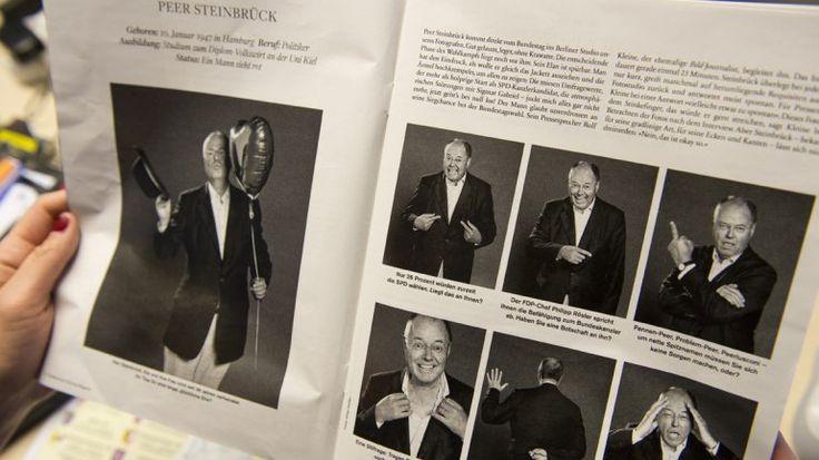 Las polémicas fotos de Peer Steinbrück, el rival de Merkel | eju.tv