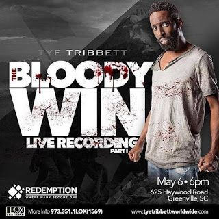 Tye Tribbett gears up for live recording, The Bloody Win, May 6 | Gospel Music Fever
