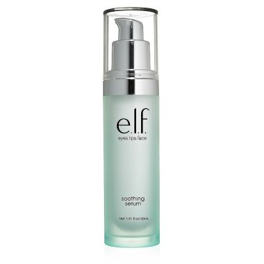 elf - Soothing Serum Soothing Serum.  Don't hate this but I feel it doesn't do anything special (maybe a good serum for a lady in her 20's).