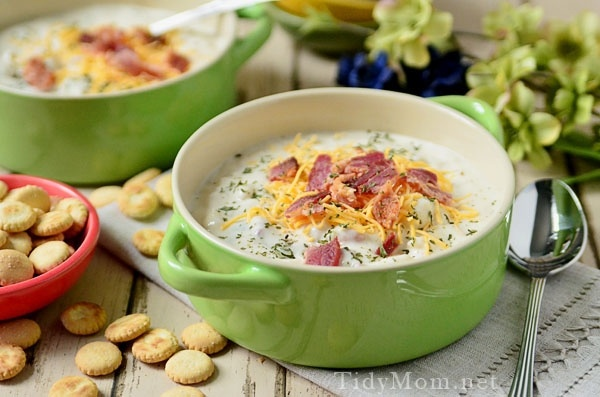 Bacon. Potato. Soup. | For the Home | Pinterest