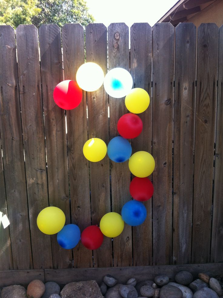 Sollie's curious george party