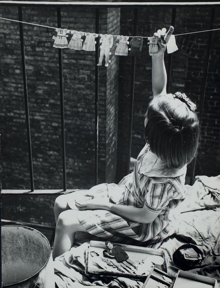 Washing day. ca. 1935