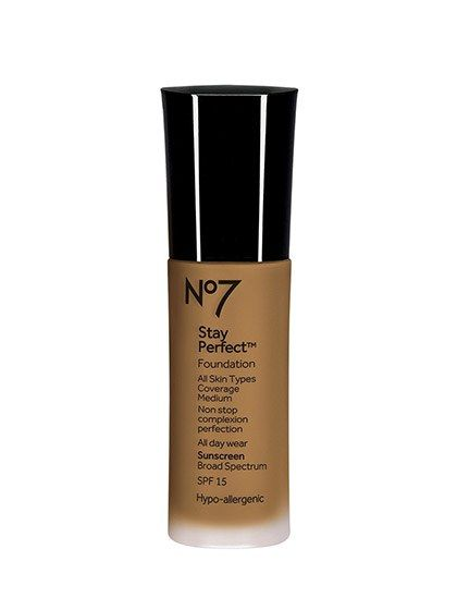 11 Lightweight Foundations That Are Perfect for Summer: No7 Stay Perfect Foundation | Allure.com