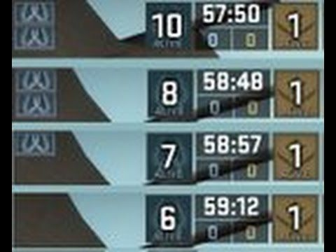 CS GO Mini-ScorBoard Style /Just Show Player Count/ Just Avatars