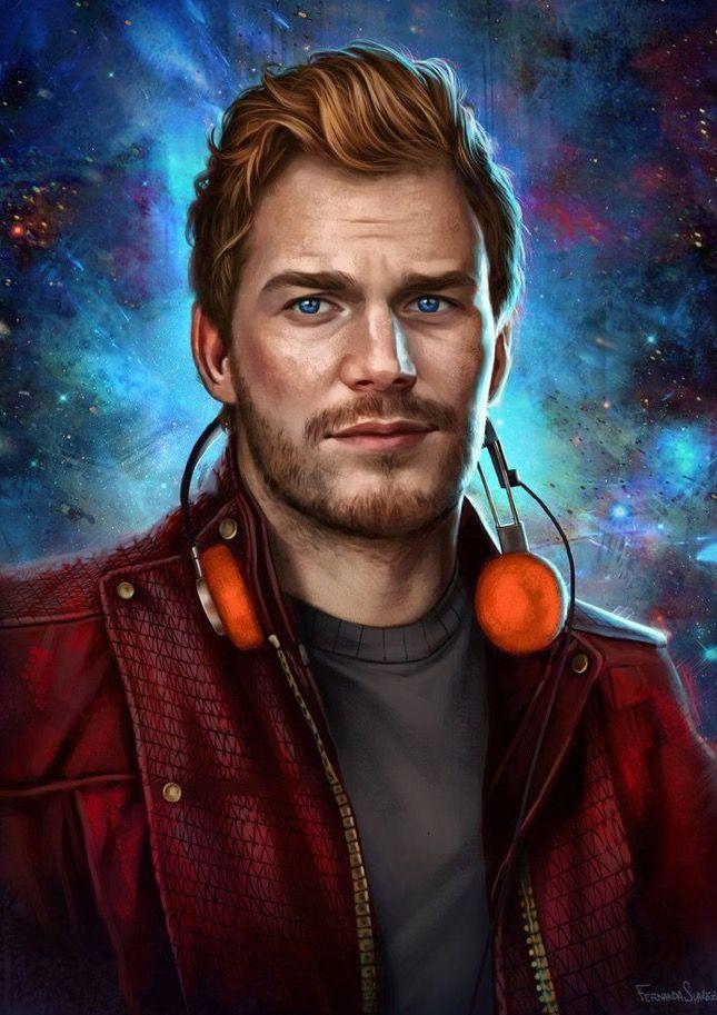 Peter Quill Star Lord Chris Pratt