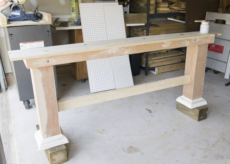 Building A (Behind The) Sofa Table