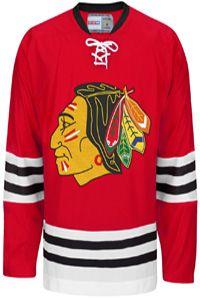 Chicago Blackhawks CCM Vintage 1960 Red Replica NHL Hockey Jersey