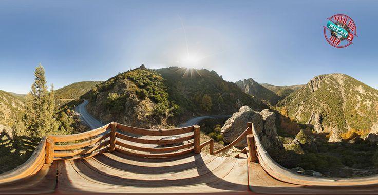 """""""Sadağı Kanyonu"""" Doğal Cenneti Sanal Tur İle 360 Derece Gez.. Mekan360 ile her yerden, gezdiğin yeri 360° hisset"""