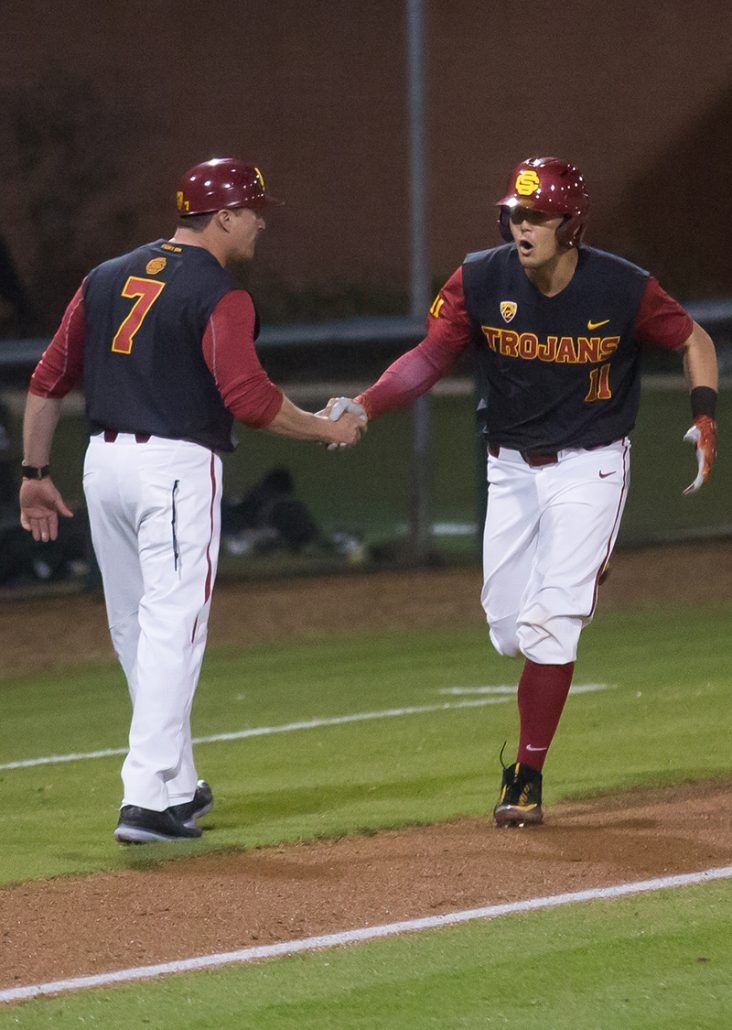 Baseball fights off Long Beach State in 11-inning thriller