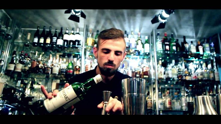 Cocktail Competion Negroni  bartender  drink mix