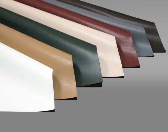 PVC Roof Membrane in multiple colors. #pvc #roof #ibroof #ibroofsystems #membrane #color