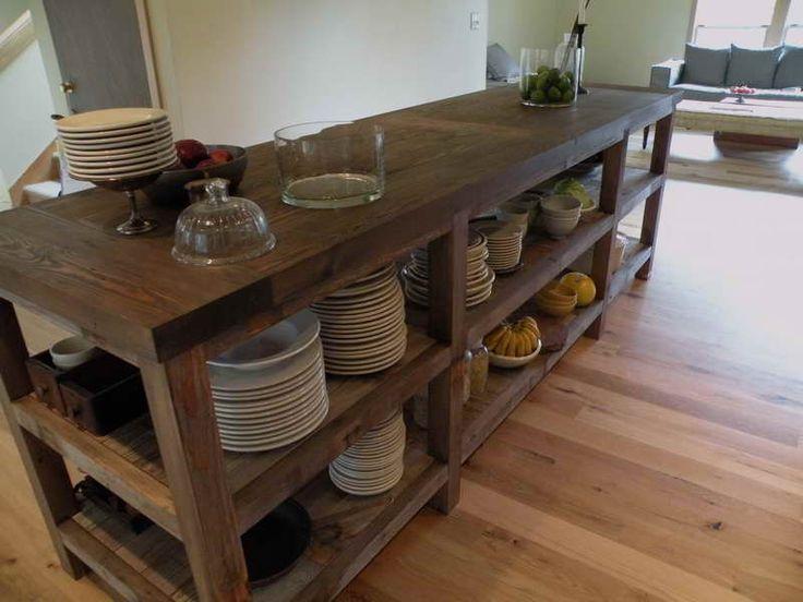 wooden kitchen island table wood top legs islands