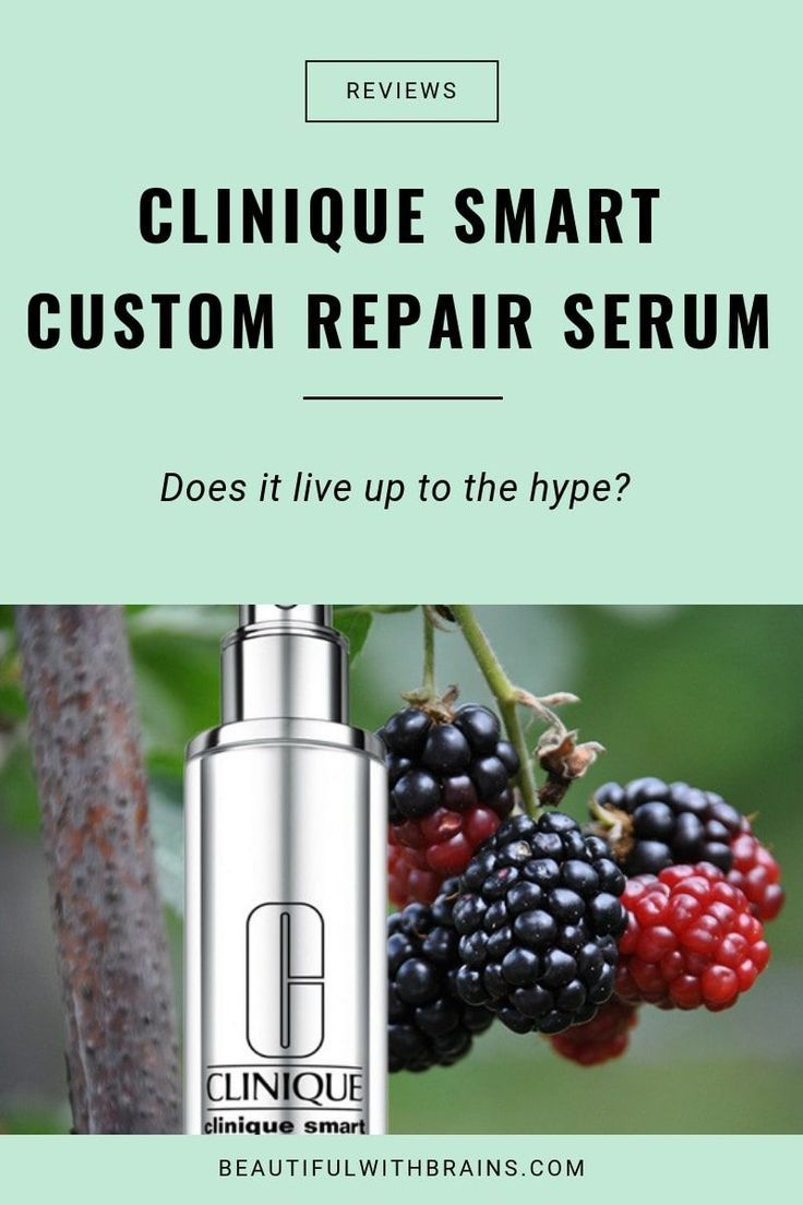 Clinique Smart Custom Repair Serum Review