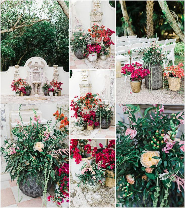 Wedding Florals - Bonnet House Wedding Styling - The ALTARnative Florals - Coastal Blossoms www.chelseaerwin.com #weddingdetails #weddingflorals #thealtarnative #coastalblossoms #bonnethousewedding #southfloridaweddings #create #weddingday