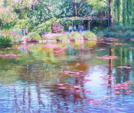Reflections Giverny