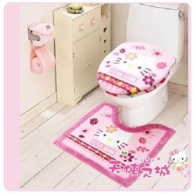 28 best images about my hello kitty bathroom on pinterest pink bathrooms best deals and. Black Bedroom Furniture Sets. Home Design Ideas
