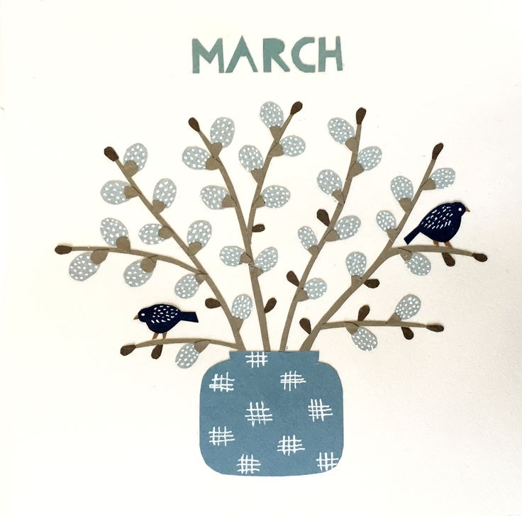 Calendar picture, March