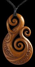 Stained Bone Carvings
