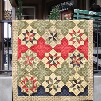 One of the only shops in Oregon with over 300 beautiful quilts on display. Kits are ready to go for you so that you don't wait! - Yelp