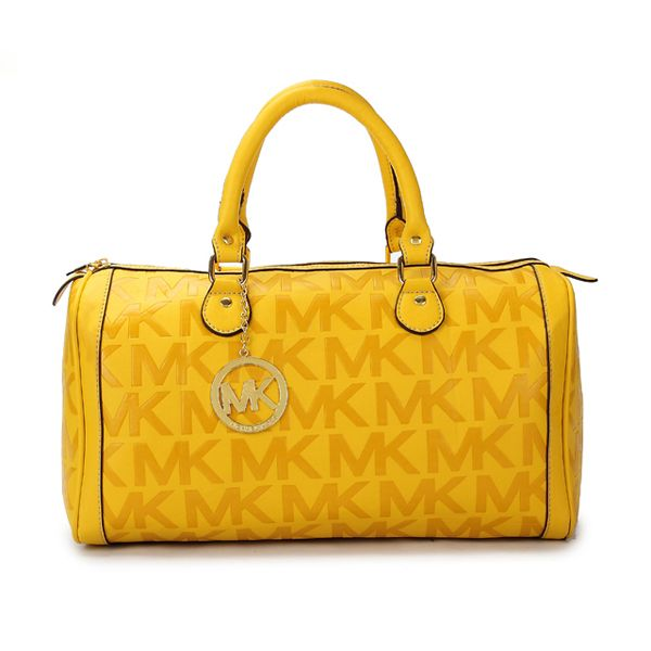 Discount Fashion Michael Kors Grayson Monogram Satchel Yellow MK9023 Outlet  Store Online. Handbags ...