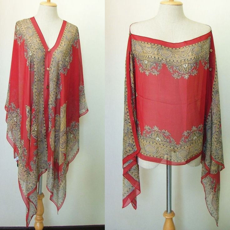 how to make a kaftan top from a scarf