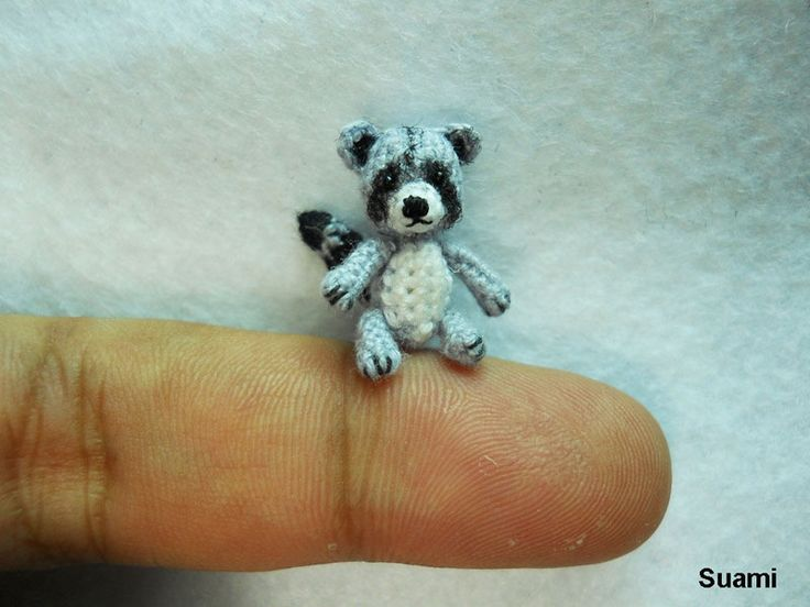 The Cutest Miniature Crochet Animals Ever!   artFido's Blog