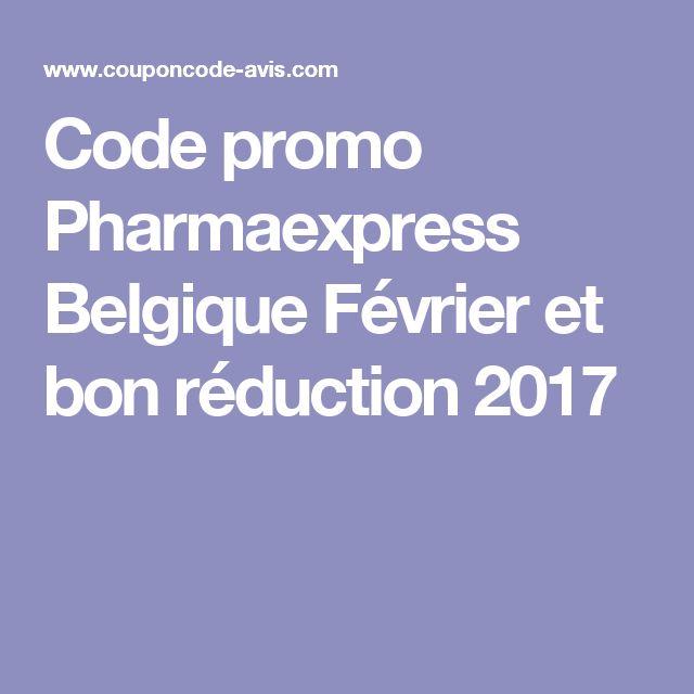 Code promo Pharmaexpress Belgique Février et bon réduction 2017