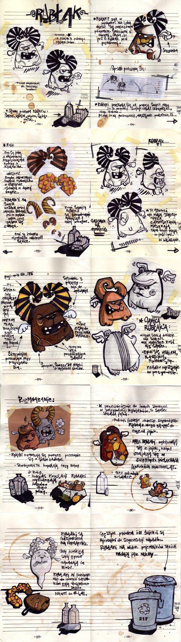 Rubłak #charakterdesign #monster