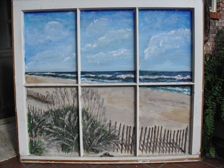 Life Portraits The Art of Kathy Cheek - Painted Windows