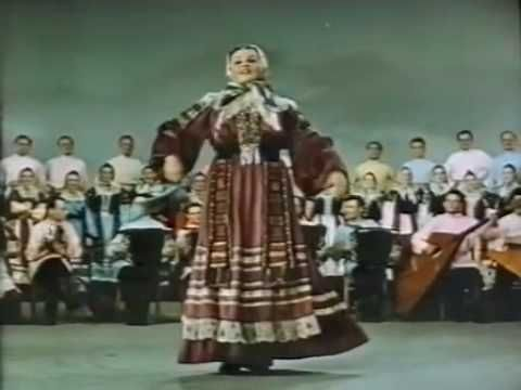 "Russian State Folk Choir from Voronezh - "" Collective farm's Tunes"""