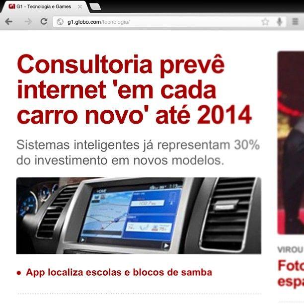 Será que o custo disso vai pesar no nosso bolso? #carros #internet #acessos #redes #social #agencia3B #3B #news #noticias #tecnologia