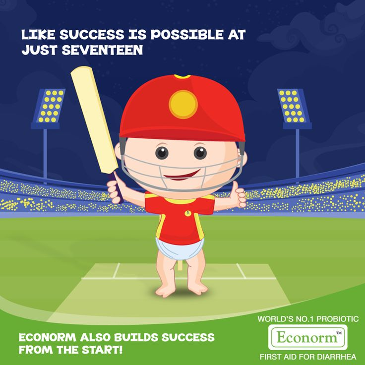 #SarfarazKhan shows how your age doesn't matter, success comes from determination and dedication. Similarly, Econorm builds confidence by stopping diarrhea, preventing dehydration and building immunity. So your child transforms into a winner, from the start! #Econorm #IPL