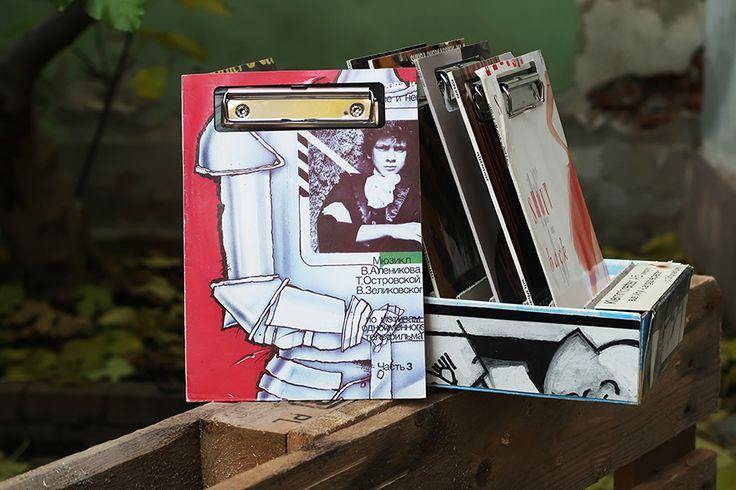 """Vinyl-Klemmbrett A5 """"Ritter"""""""