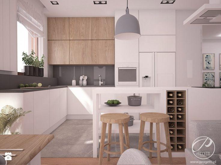 Apartamenty Marymont - Kuchnia, styl nowoczesny - zdjęcie od Progetti Architektura