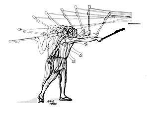 Atlatl -the strength equalizer (spear thrower, throws at up to150 km/hr.)