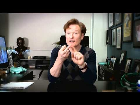Conan O'Brien Unveils the Future of Twitter: Manual Tweets