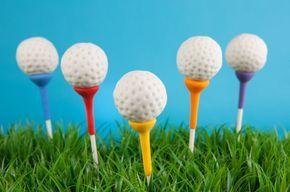Cake Pops de Golf.
