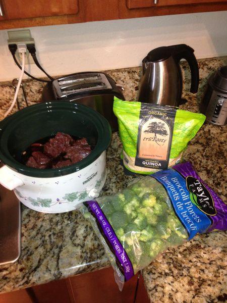 Crock pot low sodium beef and broccoli