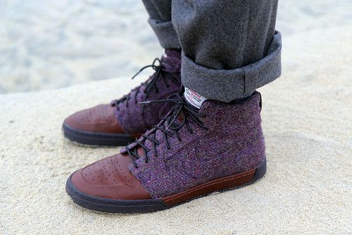 So getting these: Harris Tweed Nikes