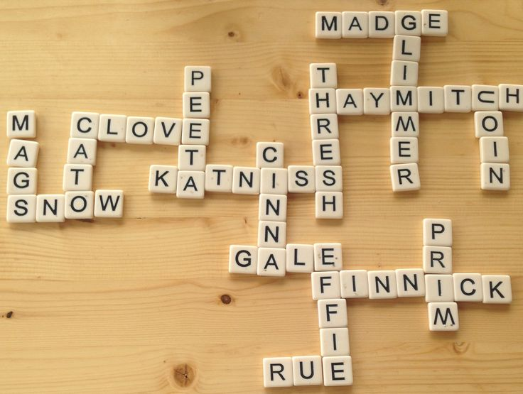 Hunger game bananagrams. The only things that bothers me is the c in Haymitch is just a u turned on its side and the second m in glimmer is a w. But it's still cool!