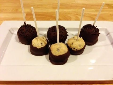 DIY: Starbucks Inspired Cookie Dough Cake Pops! - YouTube