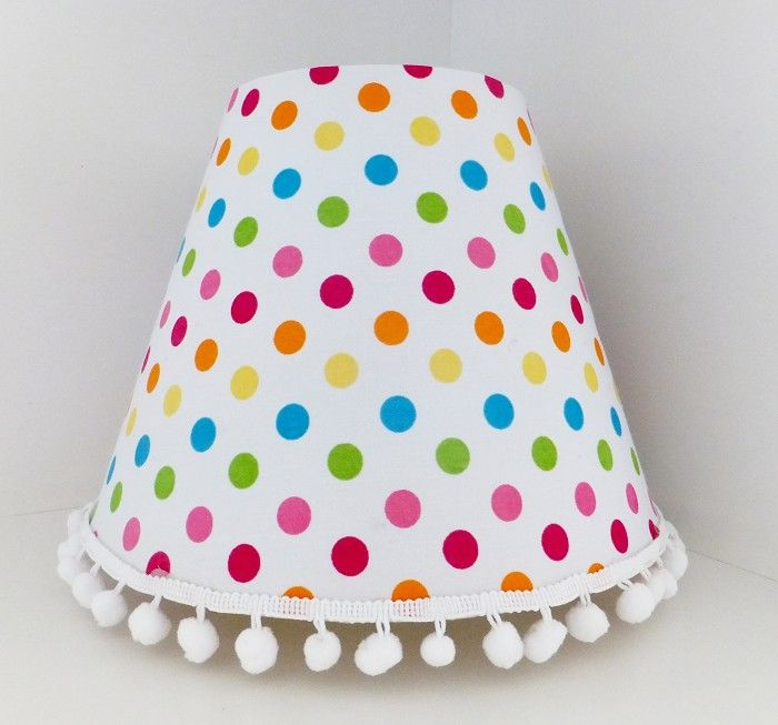 Polka Dots Lamp Shade - by LulusLamps on madeit