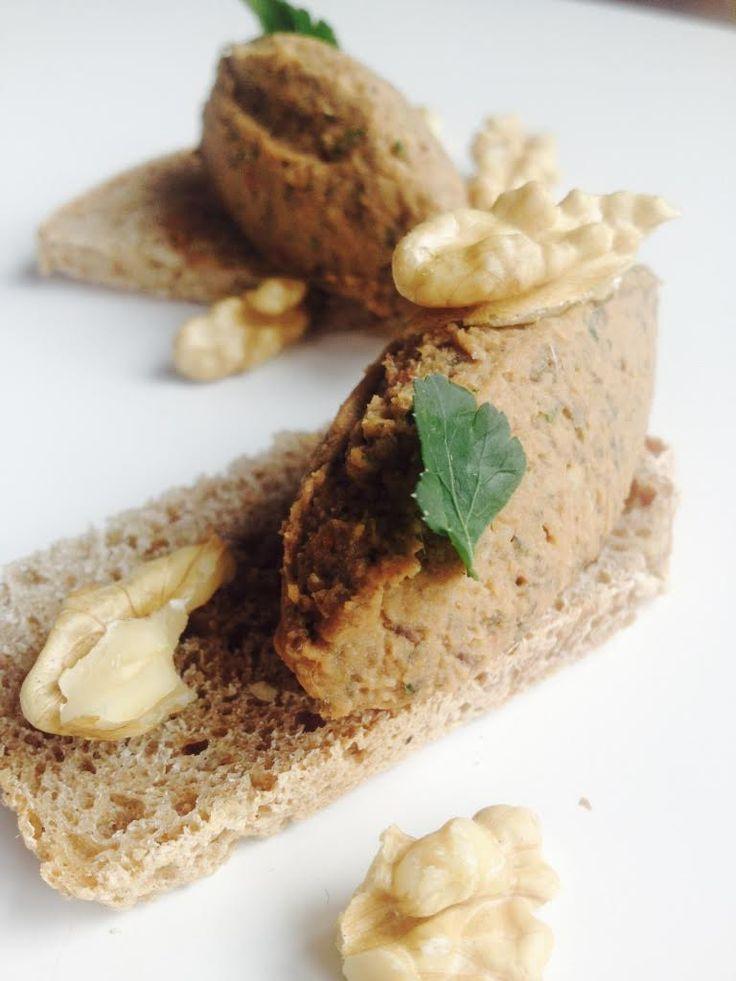 Pâté végétal aux lentilles et noix proposée par notre chef bio Laurence Salomon