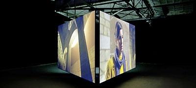 Clemens von Wedemeyer: Muster (Rushes), 2012, synchronized HD-film installation; © Fotograf: Henrik Stromberg
