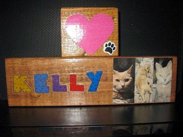 CUSTOM pet signs / blocks