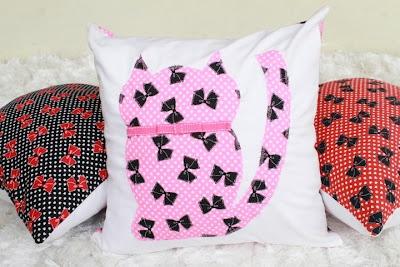 kitty pillow