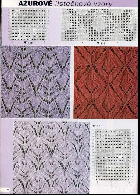 Kira knitting: Knitted pattern no. 84