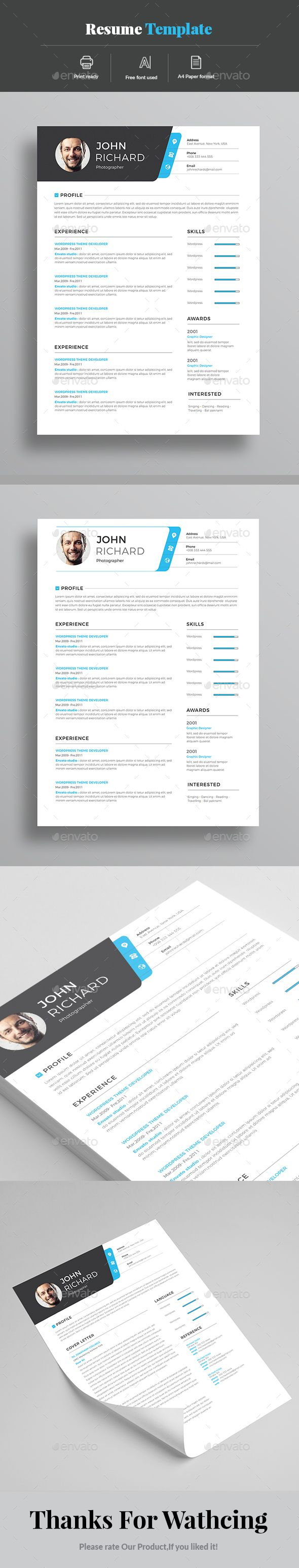 Resume Best 79 Resume Design ideas on