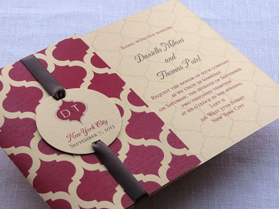 17 Best Images About Indian Wedding Invitations On